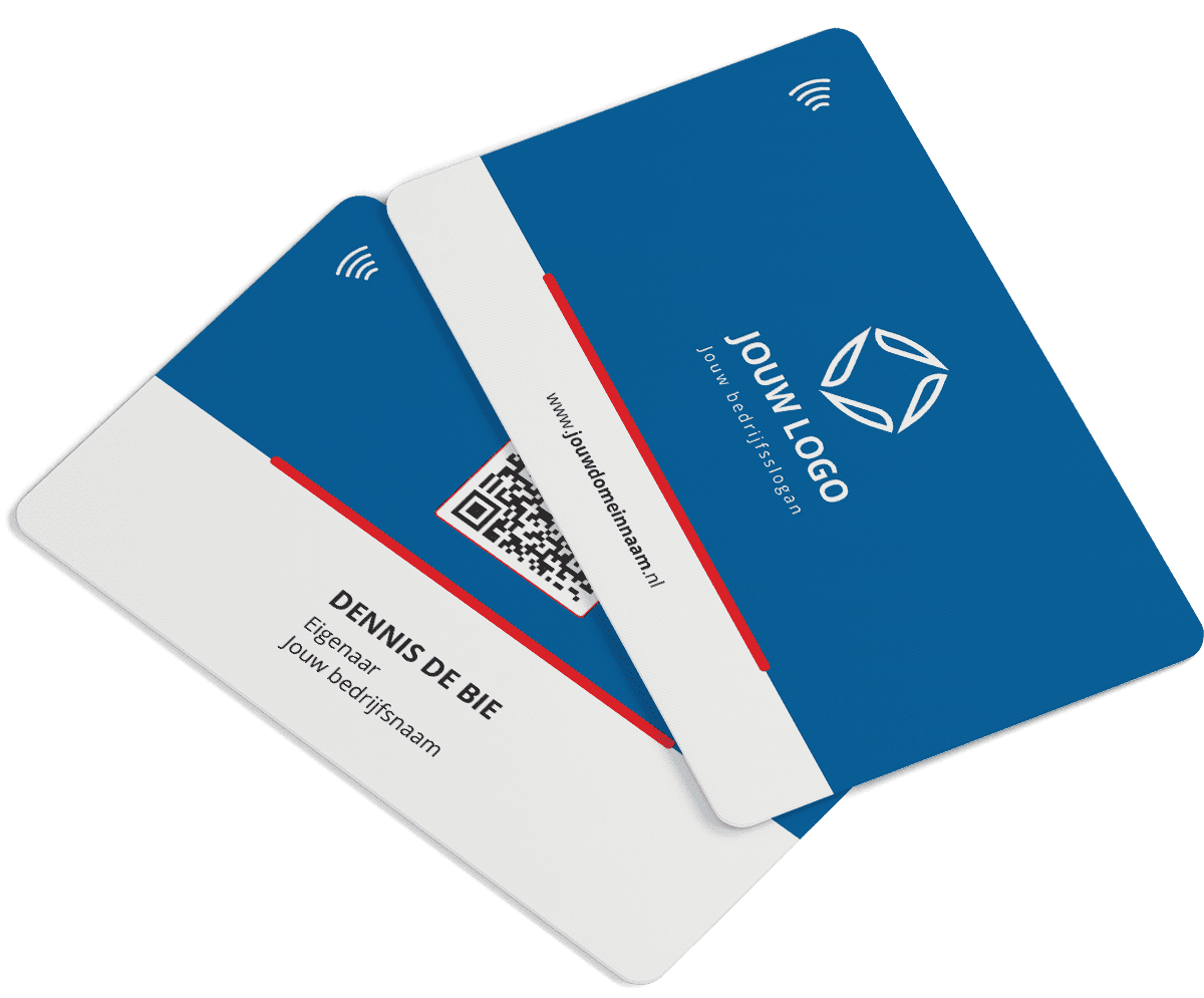 Smart Personalised Business card QuickConnected corona proof